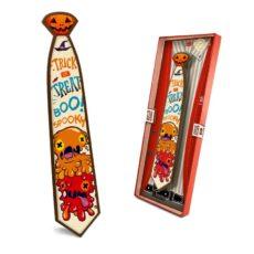 Krawat z czekolady prezent na Halloween 85