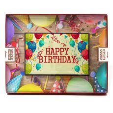 Czekoladowe życzenia urodzinowe