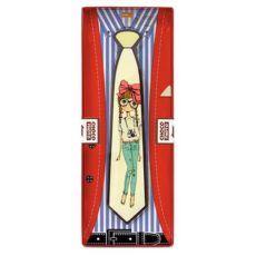 Zabawny czekoladowy krawat 85