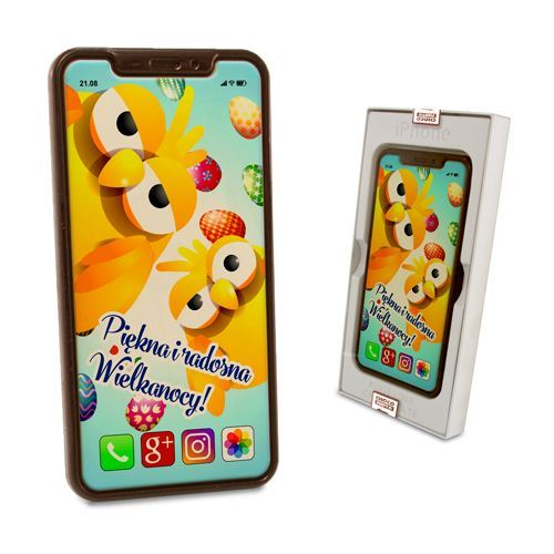 Czekoladowy Iphone X na Wielkanoc 100