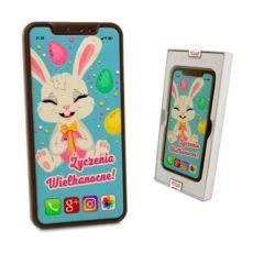 Smartfon z prawdziwej czekolady na Wielkanoc