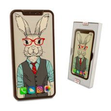 Elegancki Iphone X z czekolady na Wielkanoc