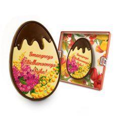 Deserowe jajo Wielkanocne z motywem kwiatowym 98