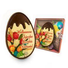 Elegancko – romantyczne jajo Wielkanocne