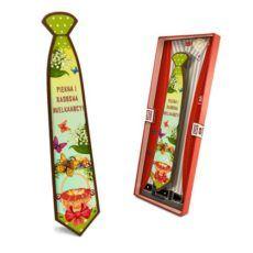 Radosny krawat Wielkanocny z czekolady