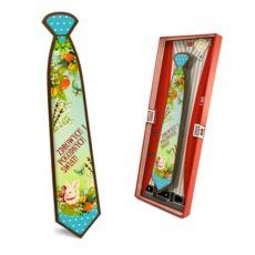 Słodki krawat z życzeniami na Wielkanoc