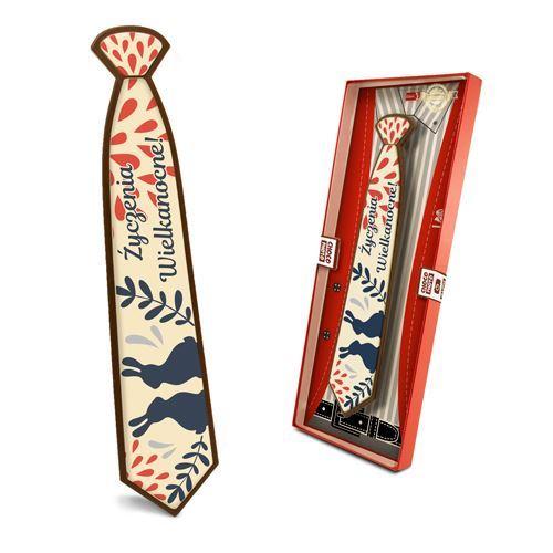 Czekoladowy krawat Wielkanocny 85