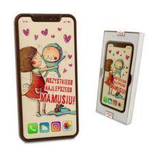 Smartfon z czekolady na Dzień Mamy