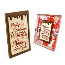 Pysznie czekoladowe życzenia na Dzień Mamy