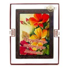 Kolorowa kartka z kwiatami z okazji Dnia Mamy 230