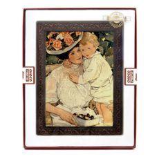 Piękna czekoladowa kartka na Dzień Mamy