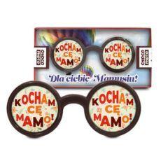 Czekoladowe okulary z wyznaniem na Dzień Mamy 50