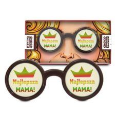 Czekoladowe okulary na Dzień Mamy 50