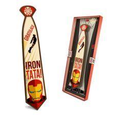Czekoladowy krawat dla Iron Taty