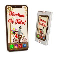 Czekoladowy  Smartfon jako prezent na Dzień Taty