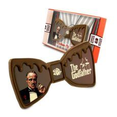 Gustowna czekoladowa muszka na Dzień Taty 50