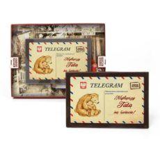 Telegram z czekolady dla najlepszego Taty na świecie