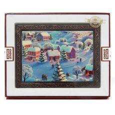 Świąteczna kartka z czekolady na Boże Narodzenie