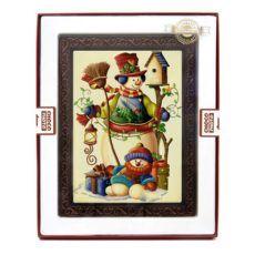 Słodka kartka z życzeniami na Boże Narodzenie