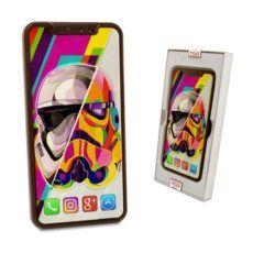 Czekoladowy Iphone X jako prezent na Dzień chłopaka 100