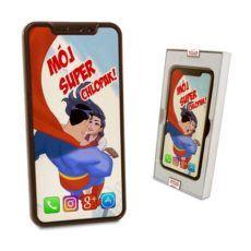 Czekoladowy Iphone X z okazji Dnia chłopaka