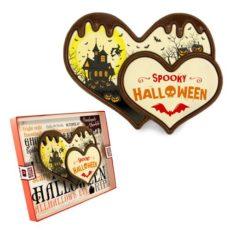 Upiorne serca z czekolady na Halloween