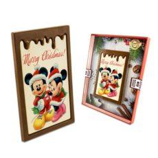 Mikołajkowe Myszki Mickey z czekolady na Boże Narodzenie