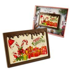 Pyszne czekoladowe życzenia bożonarodzeniowe