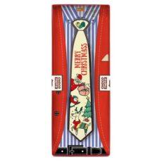 Reniferowy krawat z czekolady