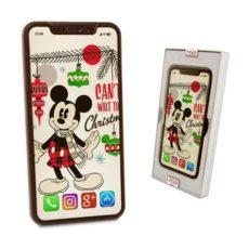 Bożonarodzeniowe życzenia od Myszki Mickey na Iphonie XS Max