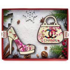 Czekoladowe Chanelki jako prezent na Boże Narodzenie