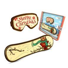 Czekoladowy snowboard na Święta Bożego Narodzenia 50