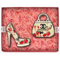 Czekoladowe Chanelki jako prezent na Walentynki 50