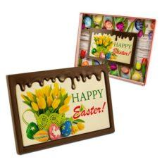 Czekoladowe życzenia z okazji Wielkanocy