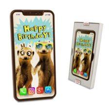 Czekoladowy Iphone XS Max na Urodziny