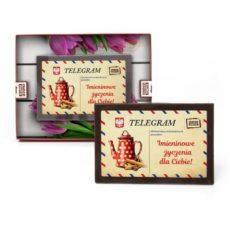Telegram z życzeniami z okazji Imienin