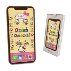 Czekoladowy Iphone XS z życzeniami na Dzień Dziecka 100
