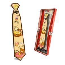 Czekoladowy krawat prezent z okazji Dnia Dziecka z nadrukiem 85