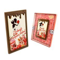 Oryginalne życzenia na rocznicę ślubu z czekolady 100