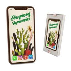 Czekoladowy  Smartfon  na przeprosiny 100