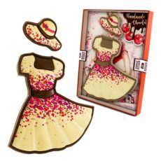 Sukienka z czekolady dla Niej na Walentynki