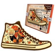 Halloween'owy but z czekolady