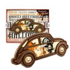 Upiorny samochód z czekolady na Halloween 100