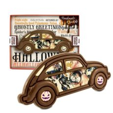 Czekoladowy samochód Harrego Pottera na Halloween 100