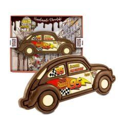 Klasyczny czekoladowy samochód na Dzień Taty 100