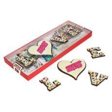 """Podziękowanie czekoladowym """"LOVE"""""""