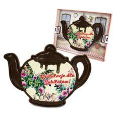 Czekoladowy czajnik na rocznicę ślubu