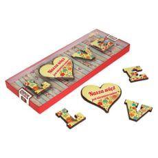 Romantyczne literki LOVE z czekolady na Waszą rocznicę 85