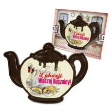 Czekoladowy czajnik na rocznicę ślubu 100