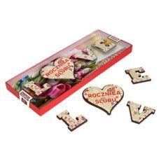 """Pysznie czekoladowe """"LOVE"""" na Twoją rocznicę"""